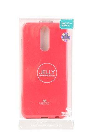 Etui Nakładka Mercury Goospery Jelly Case do HUAWEI Mate 10 Lite różowy
