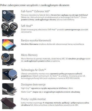 3MK ARC 3D SE Folia na przód tył boki do SAMSUNG GALAXY S7 Edge G935