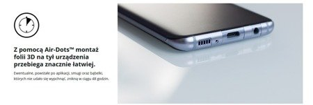 3MK ARC 3D SE High-Grip Folia na przód tył boki do SAMSUNG GALAXY S8 G950