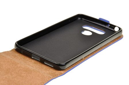 ETUI KABURA FLEXI do LG G6 H870 niebieski