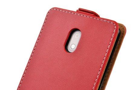 ETUI KABURA FLEXI do Nokia 3 / Nokia 3 Dual Sim czerwony
