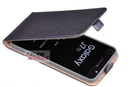 ETUI KABURA FLEXI do SAMSUNG Galaxy J7 2016 J710 szary