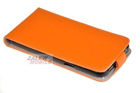 ETUI KABURA FLEXI do Samsung Galaxy J5 J500 POMARAŃCZOWY