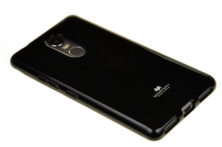 ETUI NAKŁADKA MERCURY GOOSPERY JELLY CASE do LENOVO K6 NOTE czarny