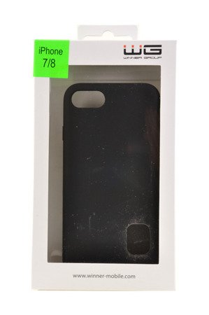 ETUI NAKŁADKA WG LIQUID do APPLE iPhone 7 / iPhone 8 czarny