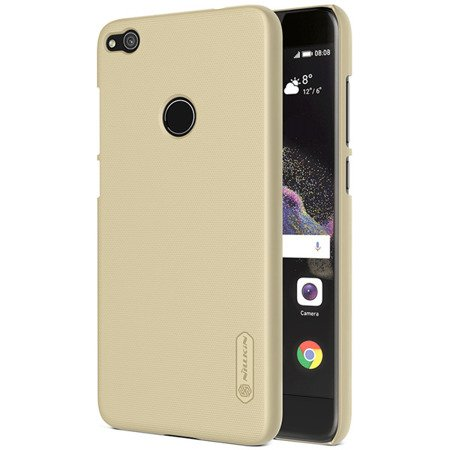 ETUI NILLKIN SUPER FROSTED SHIELD CASE do HUAWEI P8 Lite 2017 / P9 Lite 2017 / HONOR 8 Lite złoty