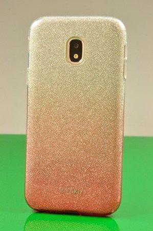 Etui Kaku Ombre do SAMSUNG Galaxy J3 2017 J330 różowy