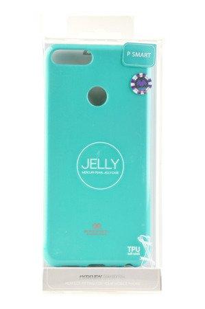 Etui Mercury Goosper Jelly Case do HUAWEI P Smart miętowy