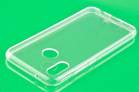 Etui Mercury Goosper Jelly Case do HUAWEI P20 Lite przezroczysty