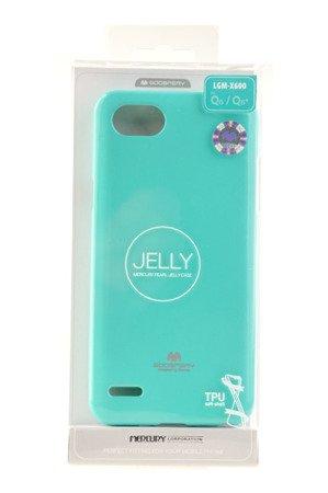 Etui Mercury Goosper Jelly Case do LG Q6 miętowy