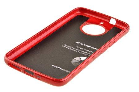 Etui Mercury Goosper Jelly Case do MOTOROLA MOTO G5S czerwony