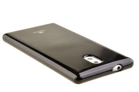 Etui Mercury Goosper Jelly Case do Nokia 3 czarny