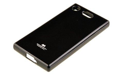 Etui Mercury Goosper Jelly Case do SONY XPERIA XZ1 Compact czarny