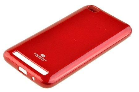 Etui Mercury Goosper Jelly Case do XIAOMI REDMI 5A czerwony
