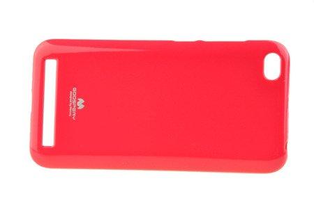 Etui Mercury Goosper Jelly Case do XIAOMI REDMI 5A różowy