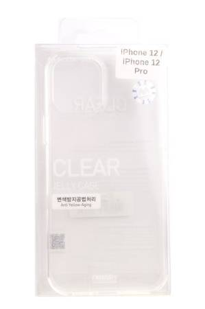 Etui Mercury Goospery Clear Case do Apple iPhone 12 / 12 Pro przezroczysty
