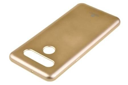 Etui Mercury Goospery Jelly Case do LG K41s / K51s złoty