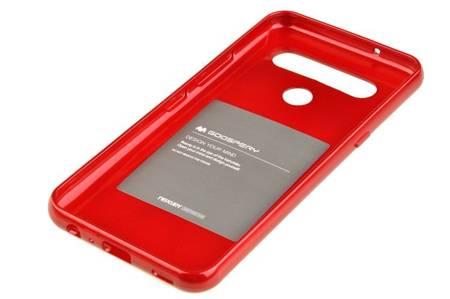 Etui Mercury Goospery Jelly Case do LG K61 / Q61 czerwony