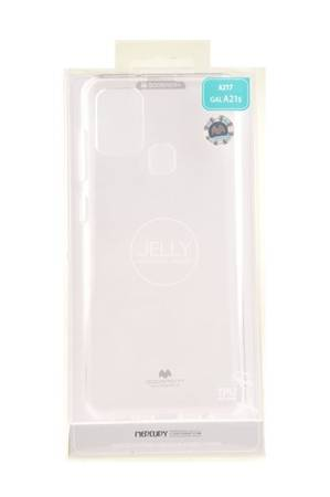 Etui Mercury Goospery Jelly Case do Samsung Galaxy A21s przezroczysty