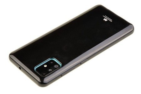 Etui Mercury Goospery Jelly Case do Samsung Galaxy A31 czarny
