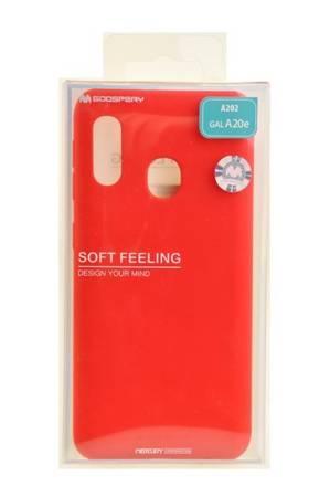 Etui Mercury Goospery Soft Feeling do Samsung Galaxy A20e czerwony