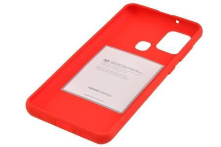 Etui Mercury Goospery Soft Feeling do Samsung Galaxy A21s czerwony