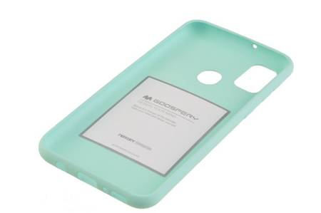 Etui Mercury Goospery Soft Feeling do Samsung Galaxy M21 / M30s miętowy