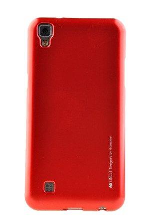 Etui Mercury Goospery iJelly Case do LG X POWER czerwony