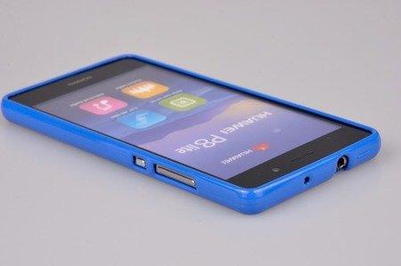 Etui Nakładka Mercury Goospery Jelly Case do HUAWEI P8 Lite niebieski