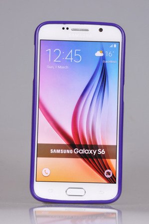 Etui Nakładka Mercury Goospery Jelly Case do SAMSUNG GALAXY S6 G920 fiolet