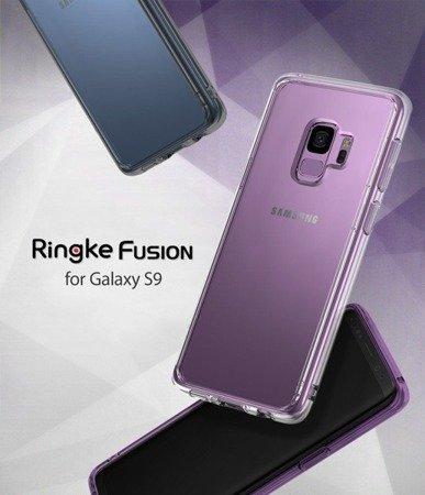 Etui Nakładka Ringke Fusion do SAMSUNG GALAXY S9 / G960 fioletowy