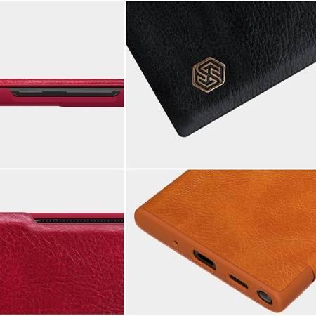 Etui Nillkin Qin leather case do Samsung Galaxy Note 20 Ultra czarny
