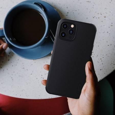 Etui Nillkin Super Frosted Shield Pro do Apple iPhone 12 Pro Max niebieski