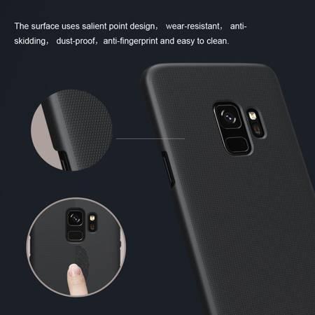 Etui Nillkin Super Frosted Shield do Samsung Galaxy S9 czarny