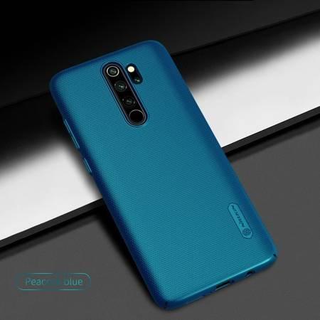 Etui Nillkin Super Frosted Shield do Xiaomi Redmi Note 8 Pro niebieski