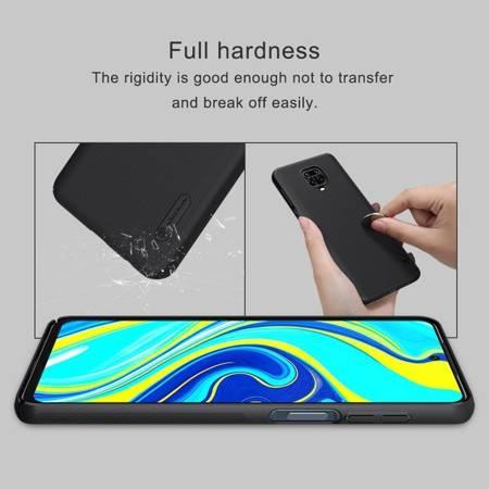 Etui Nillkin Super Frosted Shield do Xiaomi Redmi Note 9S / 9 Pro / 9 Pro Max czarny