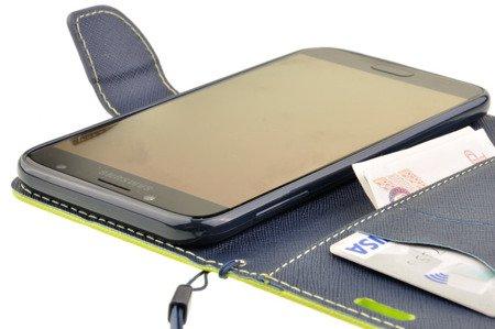 Etui Portfel Fancy Case do SAMSUNG Galaxy J3 2017 J330 limonka