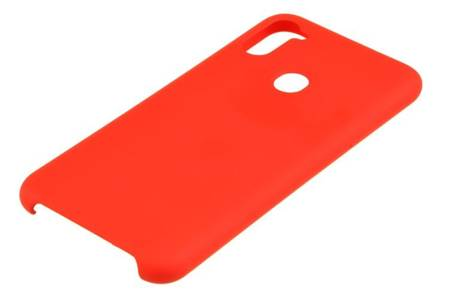 Etui Silicone Case do Samsung Galaxy M11 / A11 czerwony