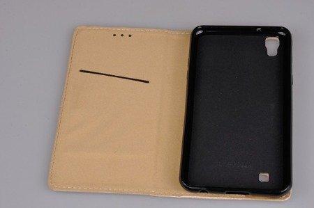 Etui Smart W2 do LG X Power złoty