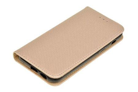 Etui Smart W2 do SAMSUNG Galaxy A3 2017 A320 złoty