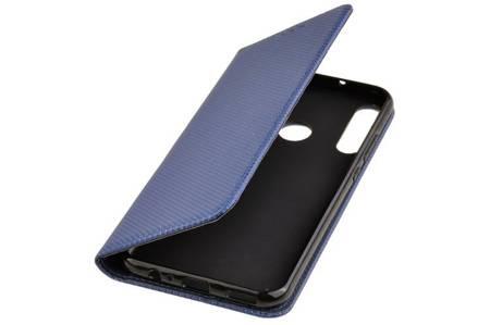 Etui Smart do Huawei P40 Lite E niebieski