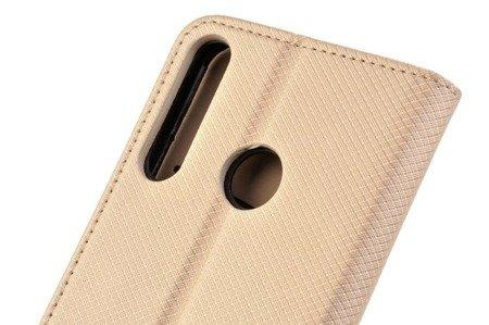 Etui Smart do Huawei P40 Lite E złoty