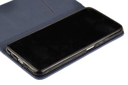 Etui Smart do Huawei P40 Lite niebieski