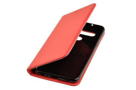 Etui Smart do LG K61 czerwony