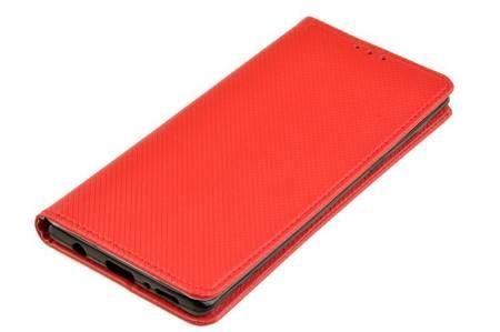 Etui Smart do LG Velvet czerwony