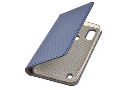 Etui Smart do Motorola Moto E6s niebieski