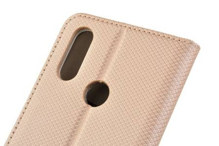Etui Smart do Motorola Moto E6s złoty