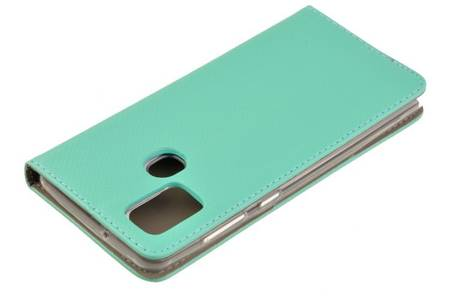Etui Smart do Samsung Galaxy A21s miętowy