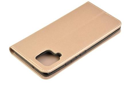 Etui Smart do Samsung Galaxy A42 5G złoty