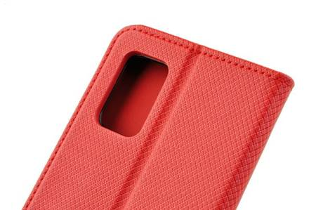 Etui Smart do Samsung Galaxy A71 5G czerwony